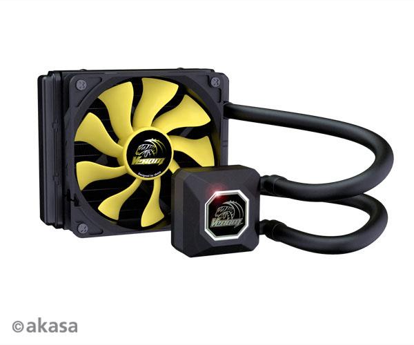 AKASA chladič CPU - vodní - Venom A10