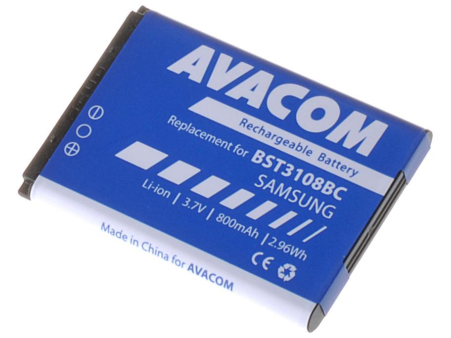 Baterie AVACOM GSSA-E900-S800A do mobilu Samsung X200, E250 Li-Ion 3,7V 800mAh (náhrada AB463446BU)