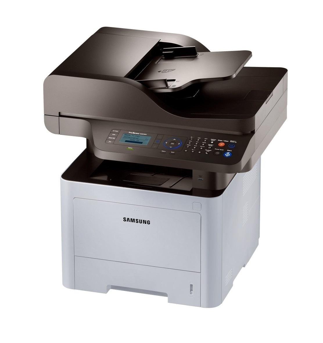 Samsung SL - M4070FR,A4,40ppm,1200x1200dpi,256Mb,PCL+PS,USB,ethernet,duplex,RADF,fax