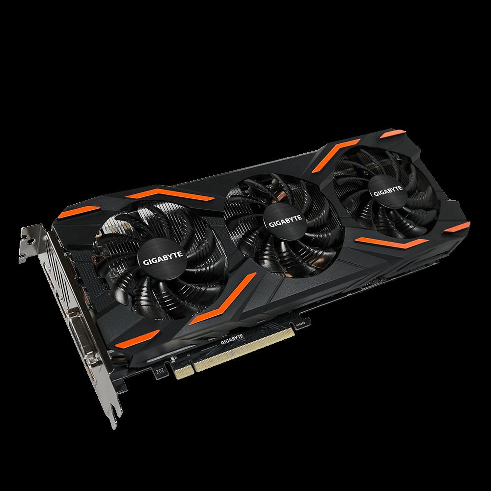 GIGABYTE GeForce® GTX 1080 WINDFORCE OC 8G