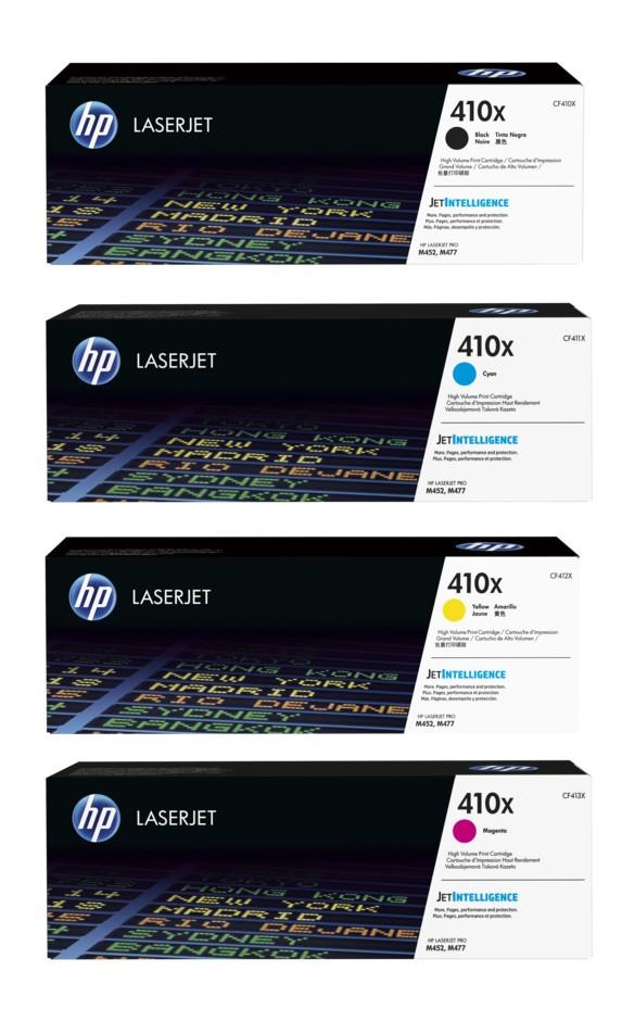 HP 201X bundle - CF400X+CF401X+CF402X+CF403X