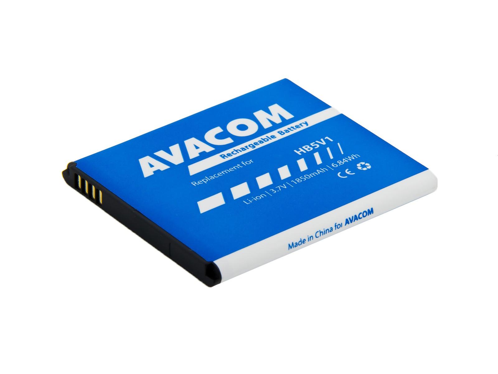 Baterie AVACOM GSHU-HB5V1-2100 do mobilu Huawei Ascend Y300 Li-Ion 3,7V 1850mAh, (náhrada HB5V1)