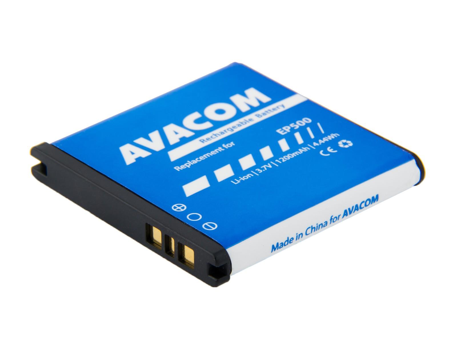 Náhradní baterie AVACOM Baterie do mobilu Sony Ericsson Xperia mini Li-pol 3,7V 1200mAh, (náhrada EP500)