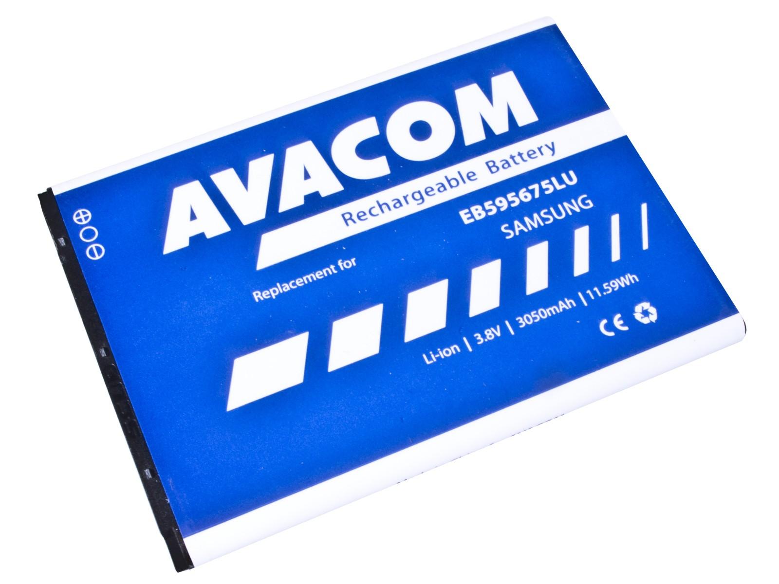 Baterie AVACOM GSSA-N7100-S3050A do mobilu Samsung Galaxy Note 2, Li-Ion 3,8V 3050mAh