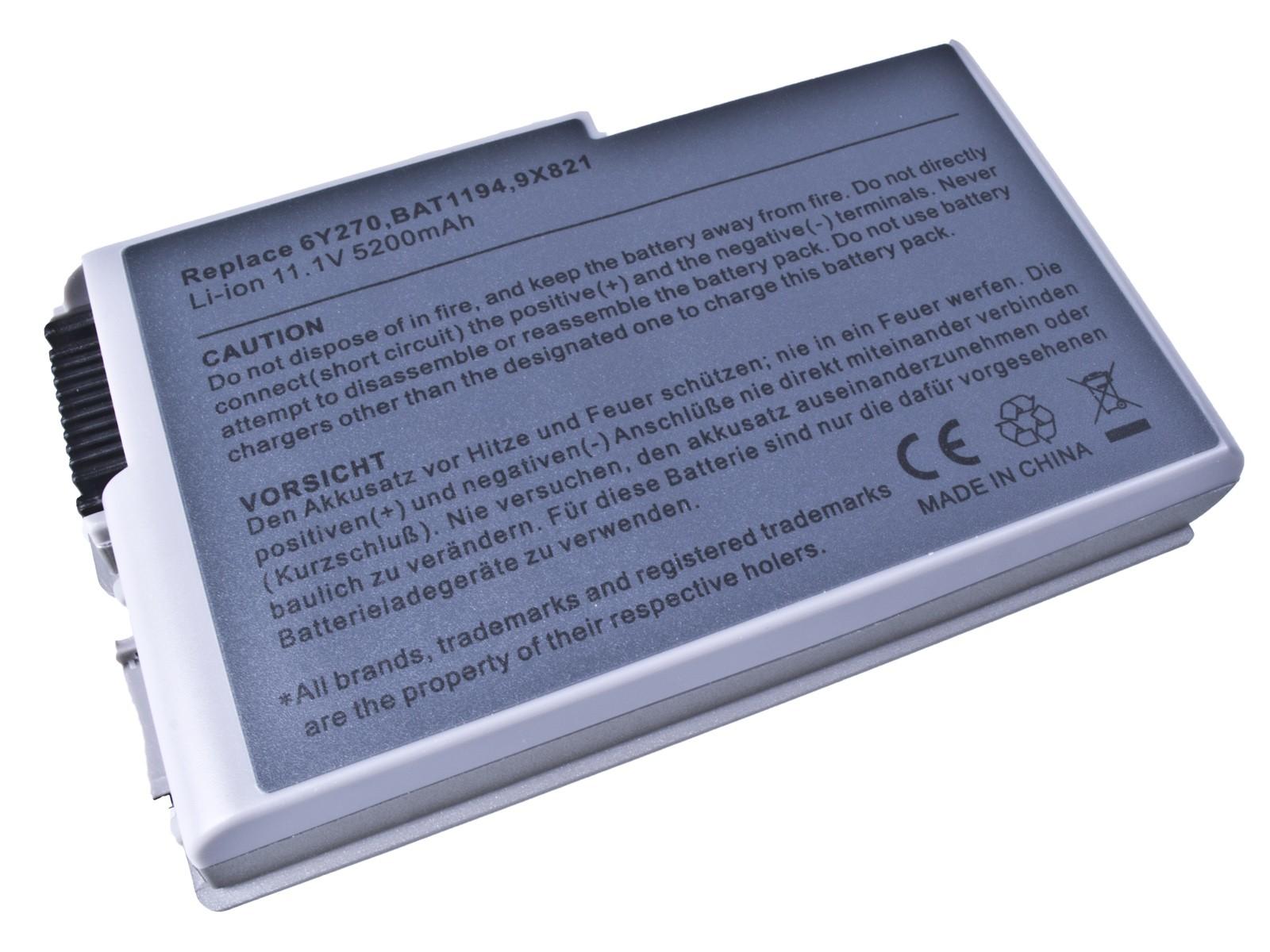 Baterie AVACOM NODE-D500-S26 pro Dell Latitude D500, D600 Series, Li-Ion 11,1V 5200mAh