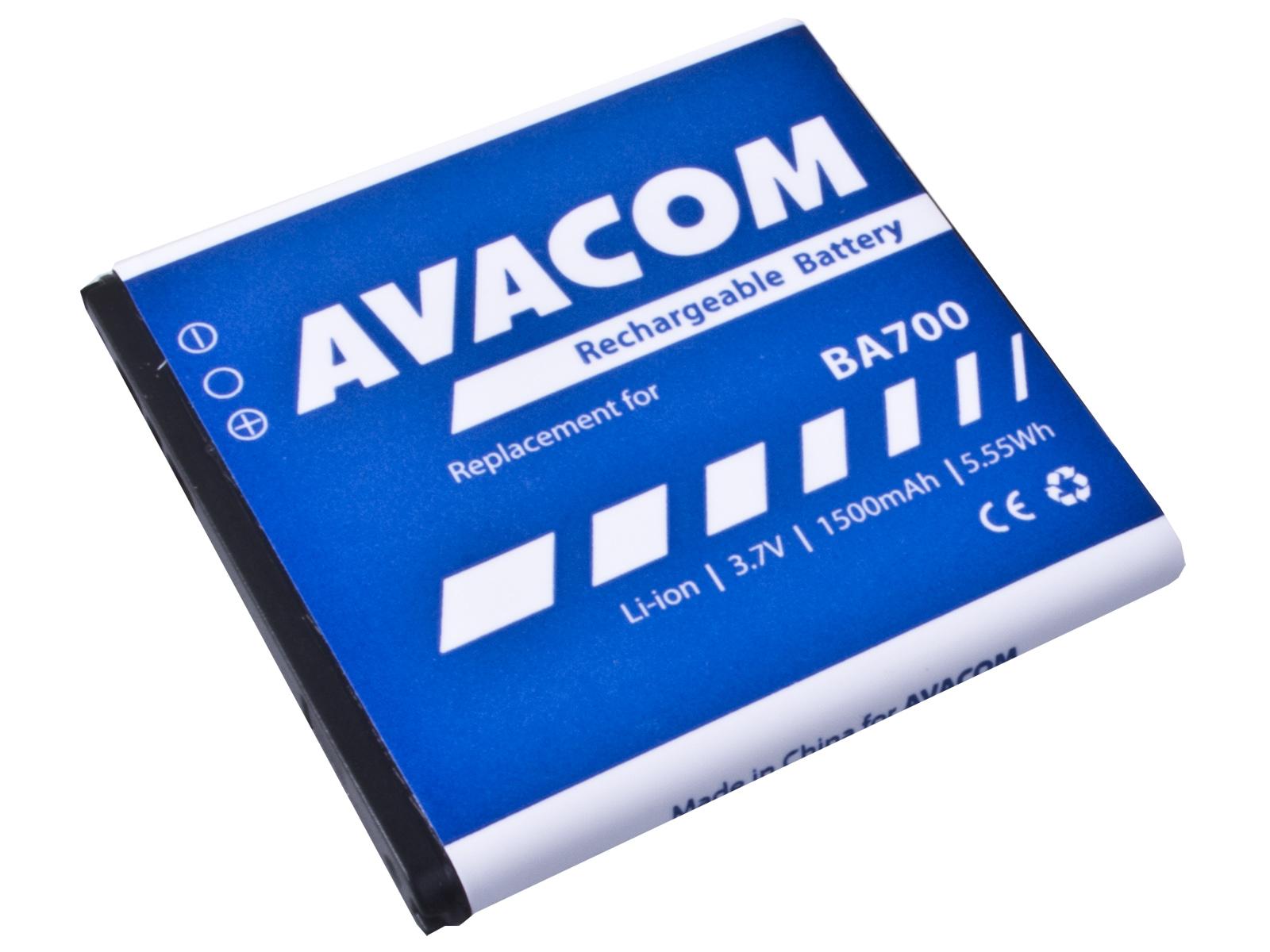 Náhradní baterie AVACOM Baterie do mobilu Sony Ericsson pro Xperia Neo, Xperia Pro, Xperia Ray Li-Ion 3,7V 1500mAh (náhr