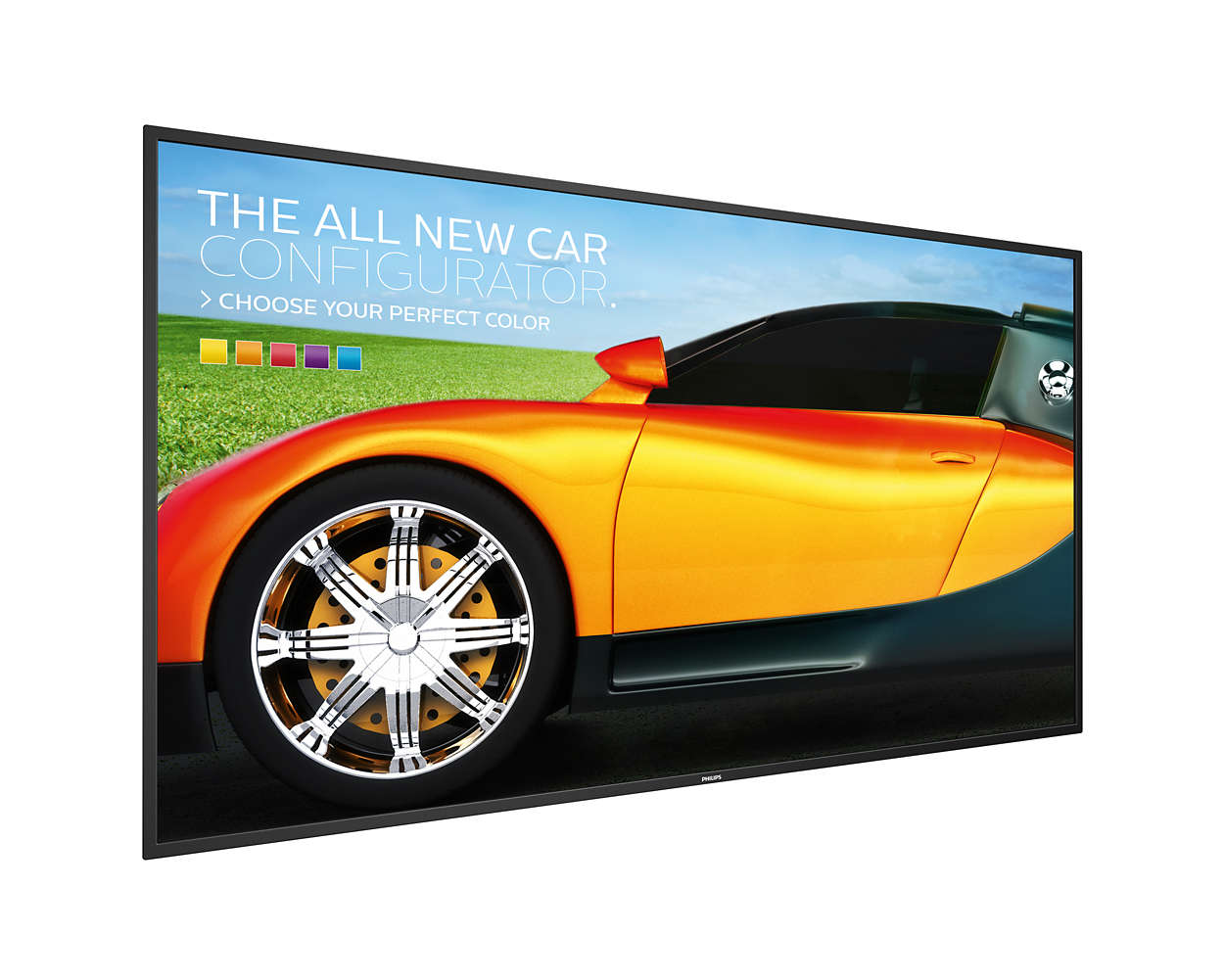 "65"" LED Philips 65BDL3000Q-FHD,350cd,MP,16/7"