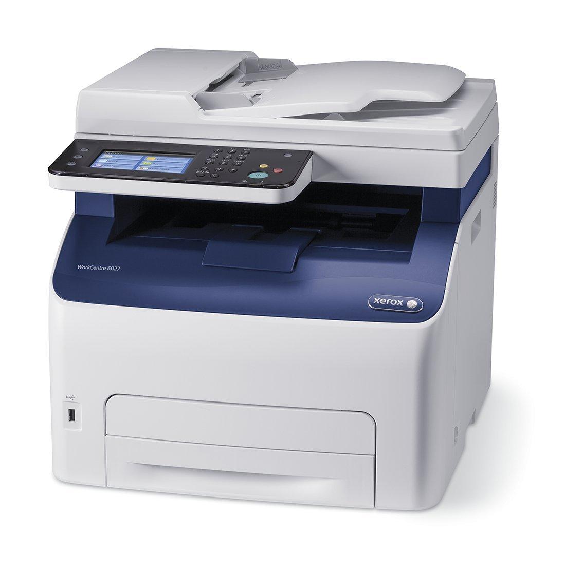 Xerox WC 6027Ni CLJ MFC HiQ LED,A4, 18str.(Copy/Print,Scan,Fax), ADF, USB, Wi-Fi, Eth.,128MB, PCL