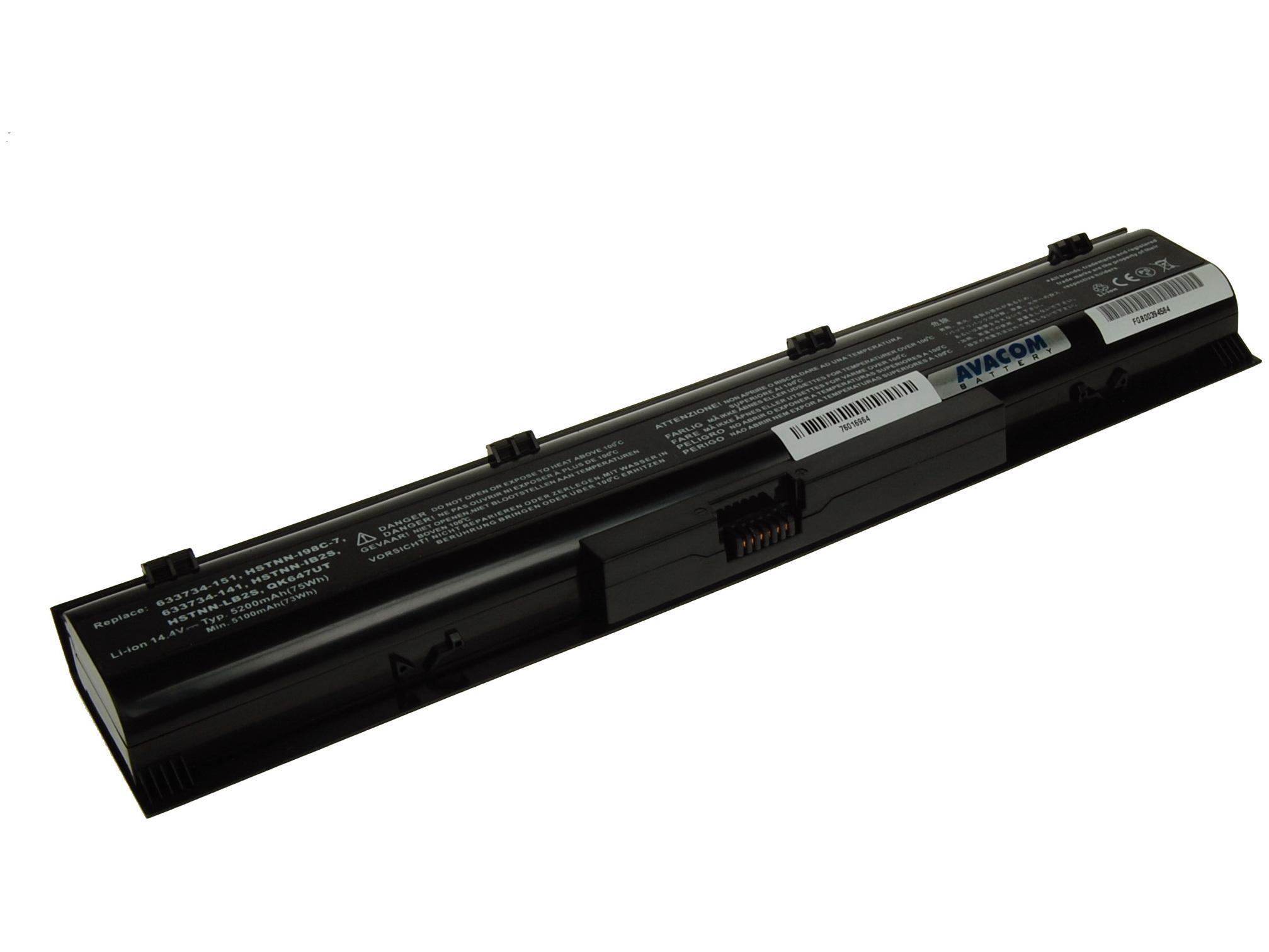Náhradní baterie AVACOM HP ProBook 4730s Li-ion 14,4V 5200mAh/75Wh