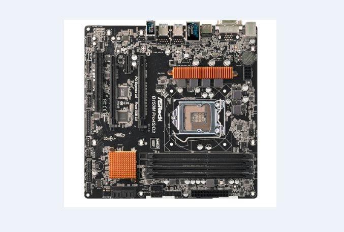 ASRock B150M PRO4S/D3, 1151, 2x DDR3, GLAN, SATA3, USB3, DVI+HDMI, mATX