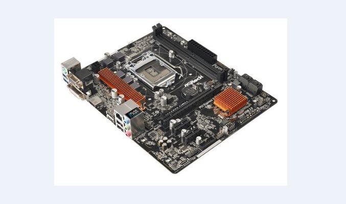 ASRock H110M-HDV, 1151, 2x DDR4, GLAN, SATA3, USB3, VGA +DVI+HDMI, mATX