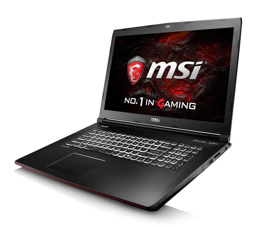 """MSI GP72 6QF-803CZ Leopard Pro/i7-6700HQ skylake/16GB/1TB HDD 7200 ot/DVDRW/ GTX 960M, 2GB/17,3""""FHD/Win 10"""