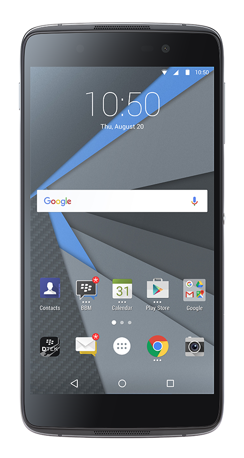 BlackBerry DTEK 50 Carbon Gray + powerbanka zdarma