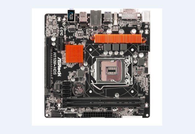 ASRock MB Sc LGA1151 H110M-HDS, Intel H110, 2xDDR4, VGA, mATX