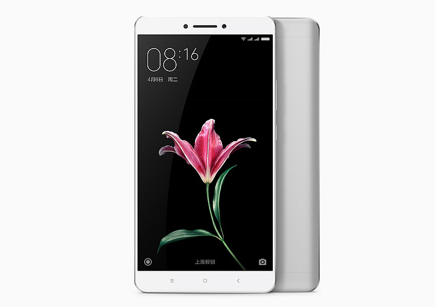 Xiaomi Mi Max Silver / 6,4´´ IPS GG4 1920x1080/1,8GHz HC/2GB/16GB/2xSIM/SD/LTE/16MPx/4850mAh