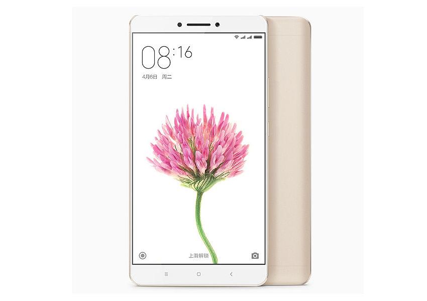 Xiaomi Mi Max Gold / 6,4´´ IPS GG4 1920x1080/1,8GHz HC/3GB/32GB/2xSIM/SD/LTE/16MPx/4850mAh