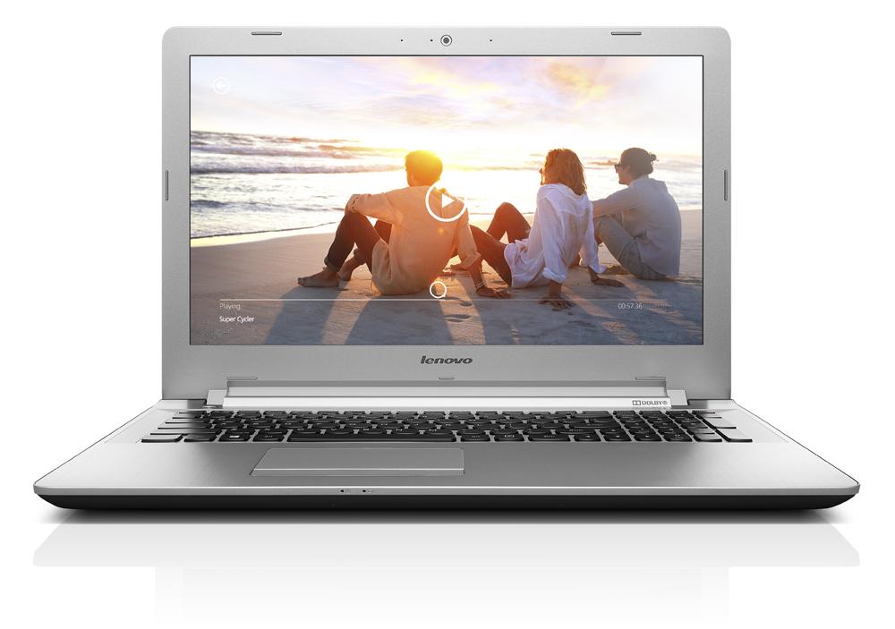 """Lenovo Z51-70 i7-5500U 3,0GHz/8GB/SSHD 1TB+8GB/15,6"""" FHD/AG/3D CAMERA/Radeon 2GB/DVD-RW/DOS bílá 80K601EKCK"""