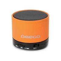 Bluetooth reproduktor 3W, FM, micro SD, oranžový