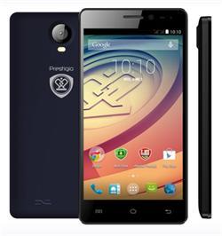 "PRESTIGIO MultiPhone Wize P3 - 3508 DUO, 5""IPS, DualSIM, Android 5.1, Quad Core 1,2GHz, 1GB RAM, 8GB ROM, 8+2Mpx, černý"