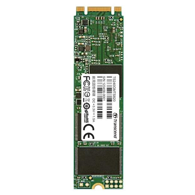 TRANSCEND MTS820 240GB SSD disk M.2 2280, SATA III (TLC)
