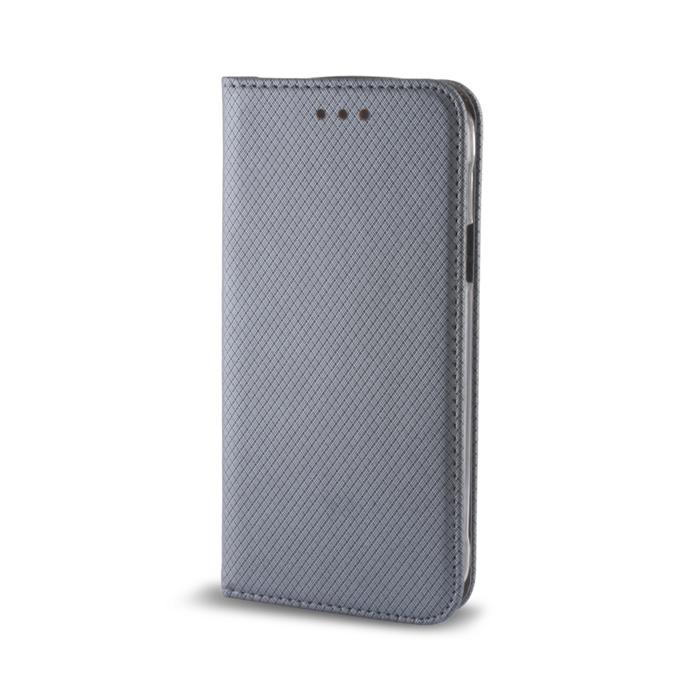Smart Magnet pouzdro LG K10 (K420) steel
