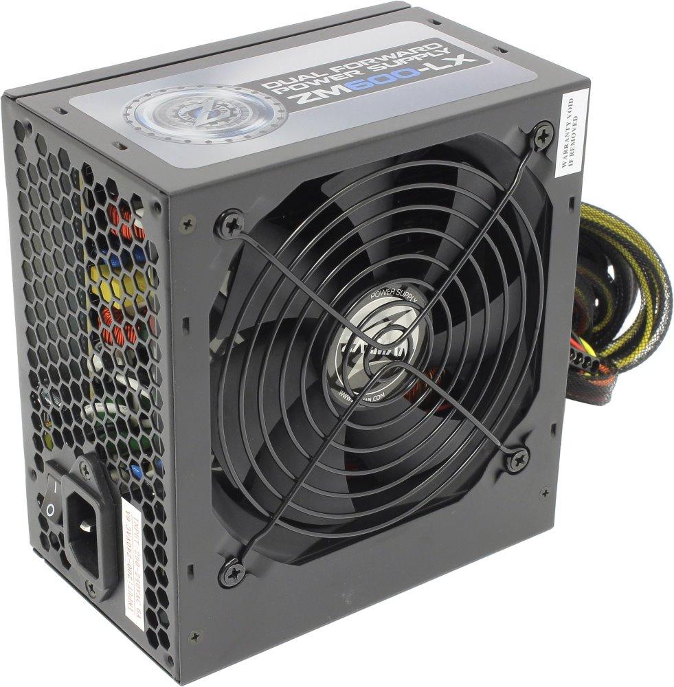 Zalman zdroj ZM600-LX 600W 80+ ATX12V 2.3 PFC 12cm fan