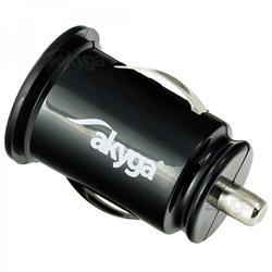 Akyga Autonabíječka 2xUSB 5V/2.1A a 5V/1A černá