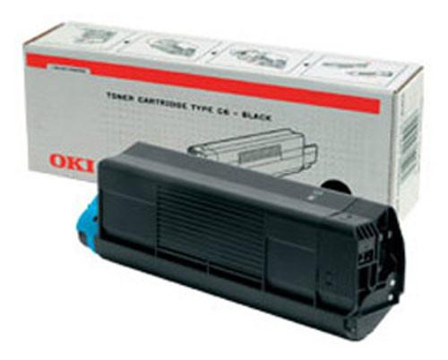 OKI Toner Cartridge, černý, do C3200 (1 500 stránek)