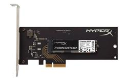 Kingston HyperX Predator SSD 960GB PCIe Gen 2.0 x4 M.2 2280 (čtení/zápis: 1350/1000MB/s; 111/72K IOPS) s adaptérem