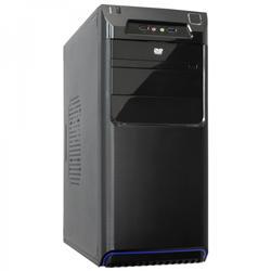 Akyga PC skříň Micro ATX AK27BL USB 3.0 black w/o PSU