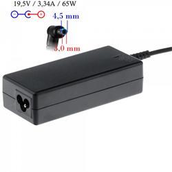 Akyga Nabíječka na notebook 19.5V/3.33A 65W 4.5x3.0 mm + pin pro HP