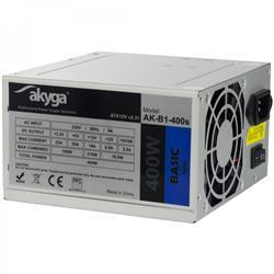 Akyga ATX Zdroj 400W Basic ventiláror 8cm P4 2xSATA