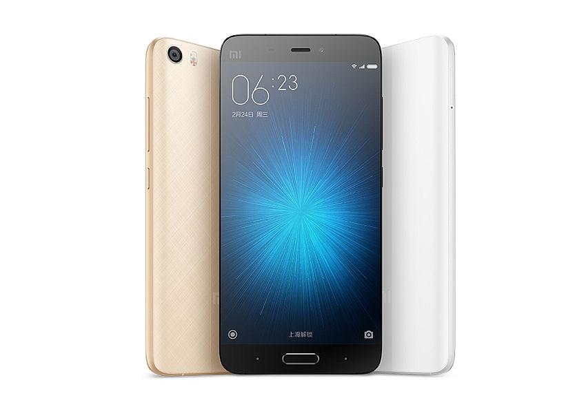 Xiaomi Mi5 Gold / 5,15´´ IPS GG4 1920x1080/1,8GHz QC/3GB/64GB/2xSIM/SD/FP/LTE/16MPx/3000mAh