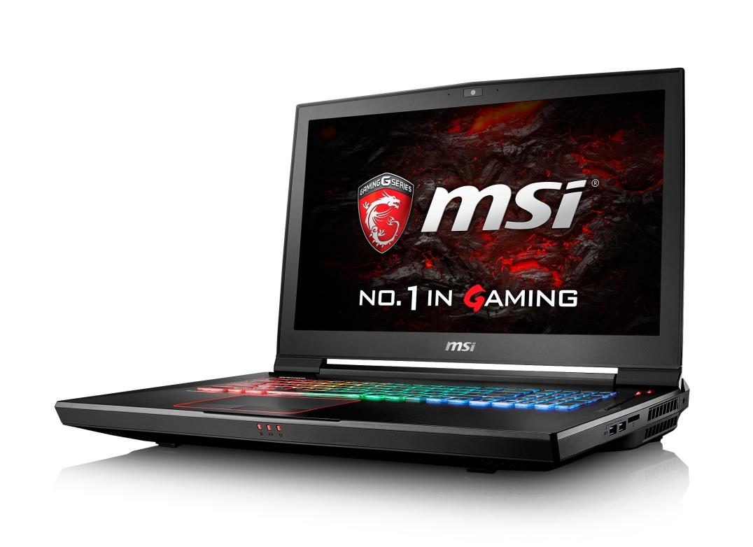 """MSI GT73VR 6RF-061CZ Titan Pro 4K/ i7-6820HK Skylake/32GB/2x256GB SSD+1TB HDD/GTX1080, 8GB/17,3"""" UHD/ W10"""