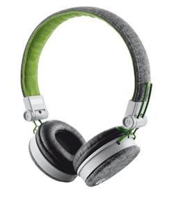Trust Fyber Headphone - grey/green