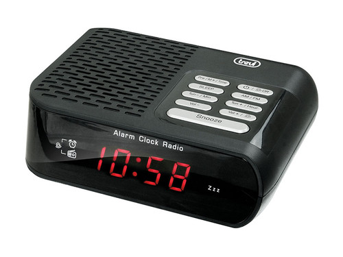RC 827D/černý Radiobudík PLL tuner FM/A