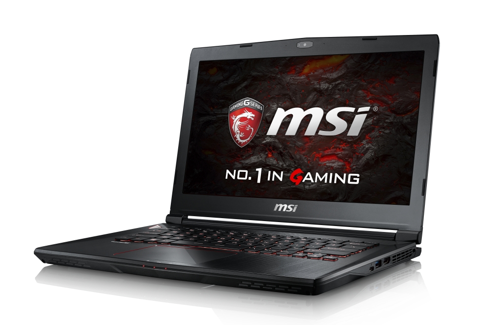 "MSI NB GS43VR 6RE-021CZ Phantom Pro, 14"" IPS, i7-6700HQ, 16GB, GTX 1060, 256GB+1TB, W10H"