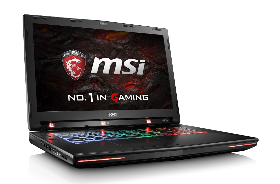 MSI NB GT72VR 6RD-201 CZ Dominator Tobii, 17.3,IPS, i7-6700HQ, 16GB, GTX 1060, 256GB+1TB, BluRay, W10H