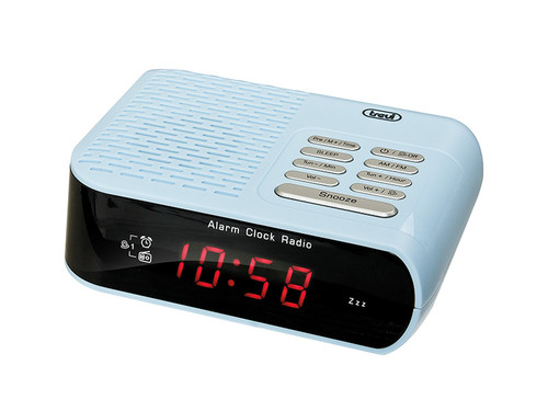 RC 827D/modrý Radiobudík PLL tuner FM/AM