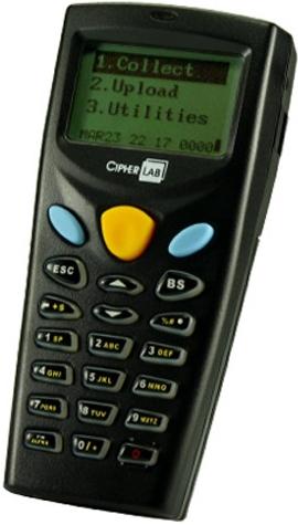 Přenosný terminál CPT-8001L, laser, 4MB, bez stoj.