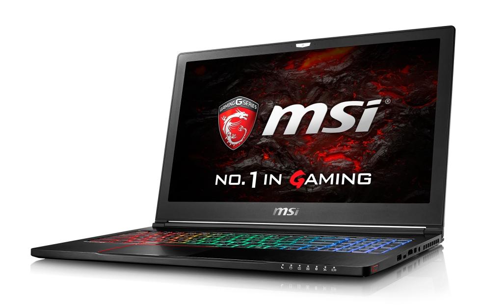 """MSI GS63VR 6RF Stealth Pro/i7-6700HQ Skylake/16GB/256GB SSD+1TB HDD/GTX1060, 6GB/15.6"""" FHD/W10"""