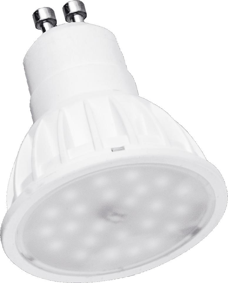 LED žárovka TB Energy GU10, 230V, 5W, Teplá bílá