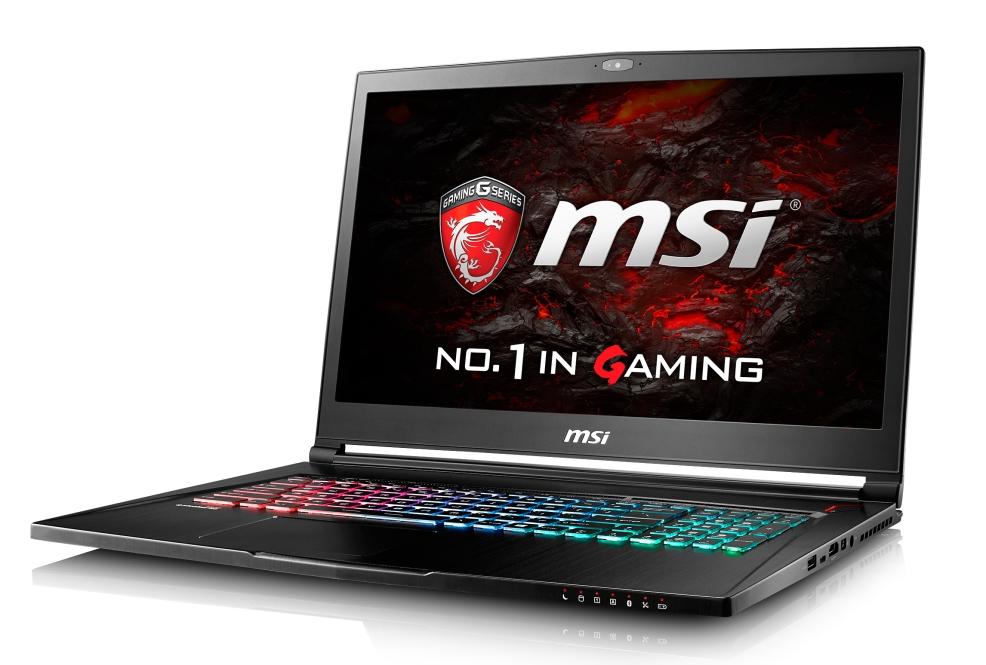 "MSI NB GS73VR 6RF-048CZ Stealth ,17.3"" FHD AG eDP IPS,i7-6700HQ,2x8GB,GTX1060 6GB,256GB+2TB 5400,WF+BT4.1,W10"
