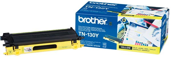 Brother - TN-130Y, toner yellow (1 500 str.)