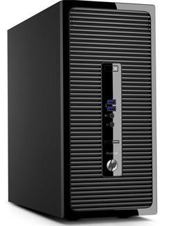 HP ProDesk 400 G3 MT, i3-6100, IntelHD, 8GB, 256GB SSD, DVDRW, KLV+MYS, W10Pro, 1y