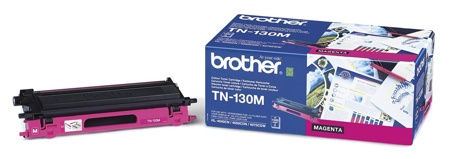 Brother - TN-130M, toner magenta (1 500 str.)