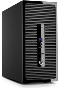 HP ProDesk 400 G3 MT, i3-6100, IntelHD, 4GB, 1TB, DVDRW, KLV+MYS, W10Pro, 1y