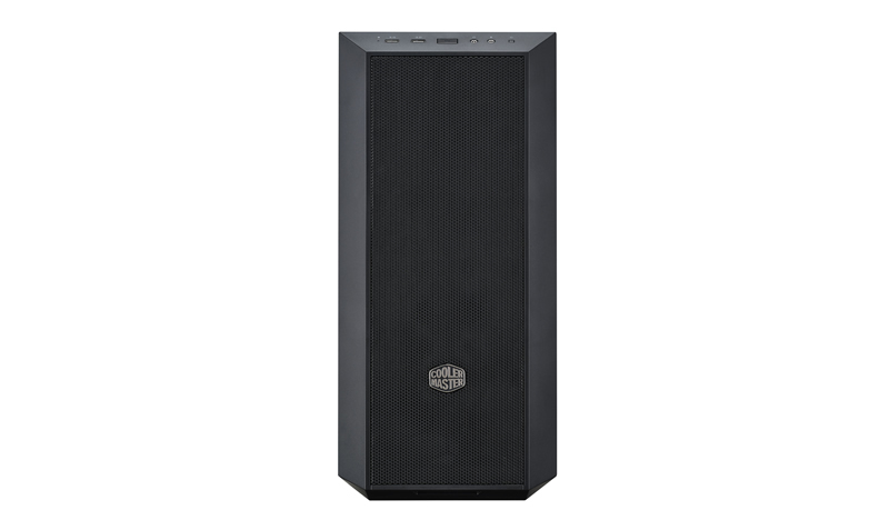 Cooler Master skříň miditower MasterBox 5 ver. 02, ATX, USB3.0, bez zdroje, průhl. bočnice, black
