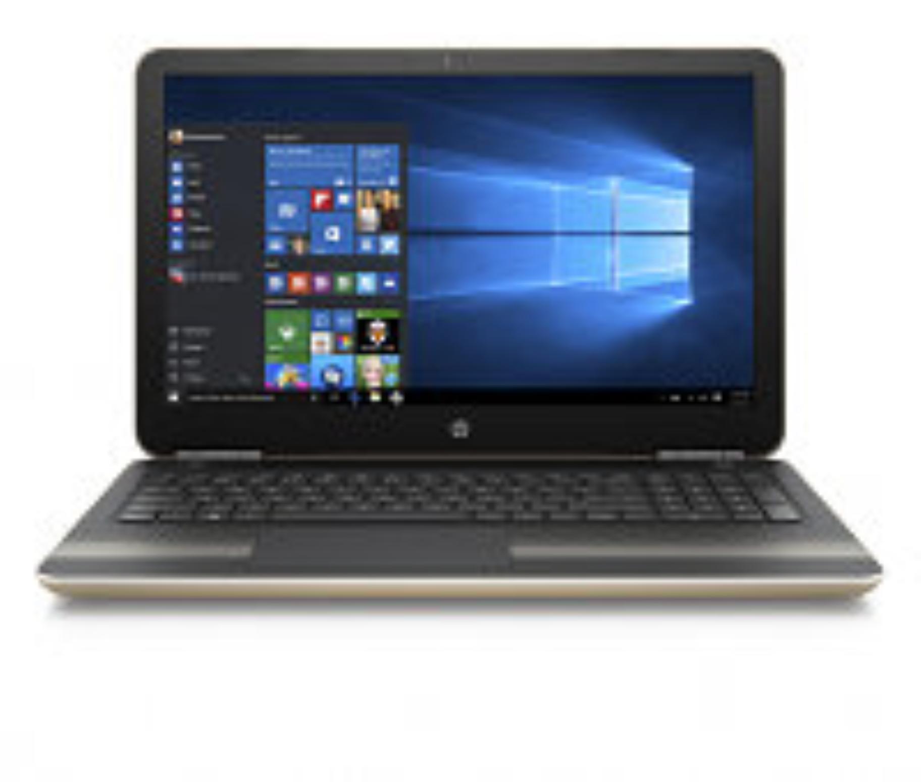 HP Pavilion 15-aw019nc/AMD A10-9600/8GB/256GB SSD M.2/DVDRW/AMD R7 M440 2GB/15,6 FHD/Win 10/zlatá