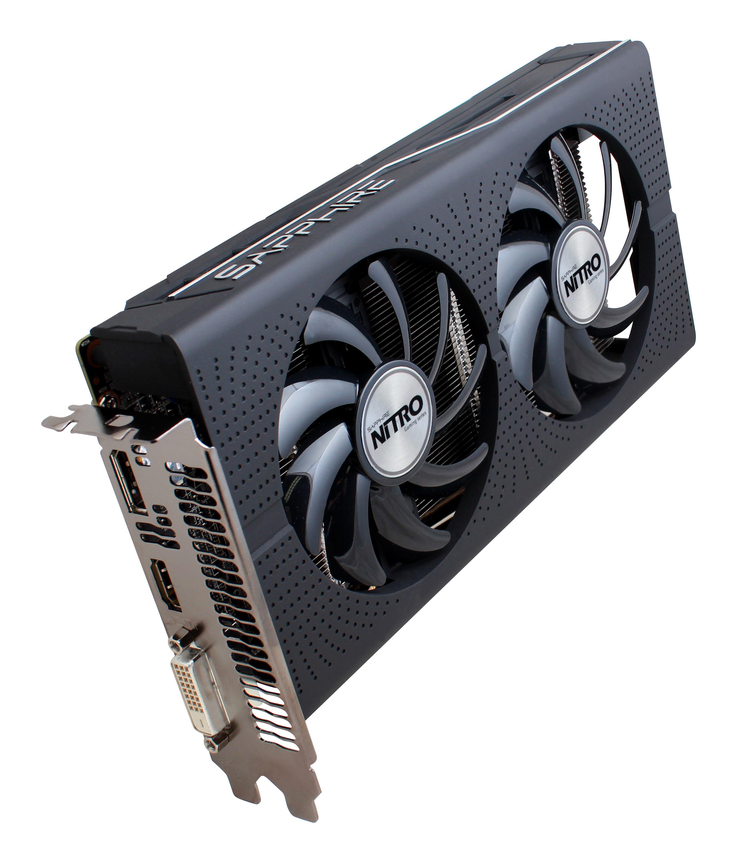 Sapphire Nitro+ RX 460 4GB (128) aktiv D H DP OC